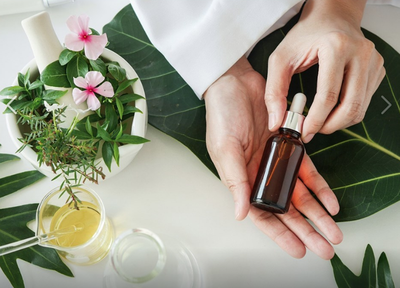 Using essential oils to clean!