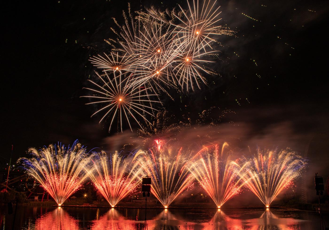 Fireworks Canada!